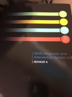 Math Diagnosis and Intervention System 2.0, Booklet A, Grades K-3
