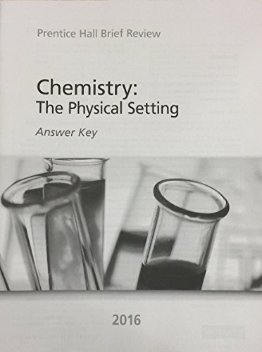 9780328870448: BRIEF REVIEW SCIENCE 2016 NEW YORK CHEMISTRY ANSWER KEY GRADE 9/12