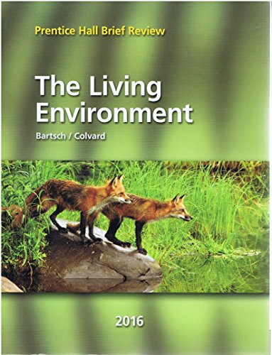 9780328870509: 2016 Prentice Hall Brief Review The Living Environment