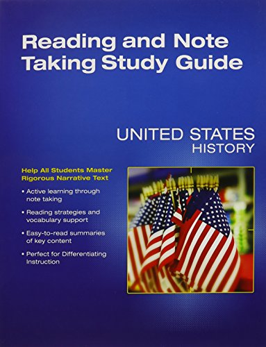 high school united states history by prentice hall abebooks rh abebooks com History Usss prentice hall us history note taking study guide answers
