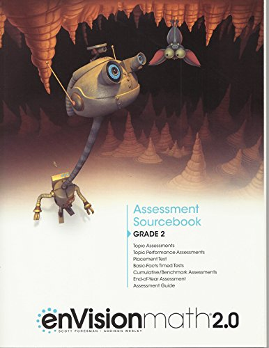 Envision Math 2.0: Assessment Sourcebook Grade 2: PEARSON