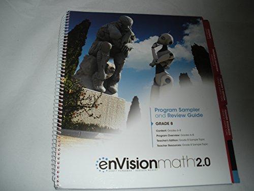 enVision Math 2.0 Program Sampler and Review Guide Grade 8: Scott Foresman, Pearson