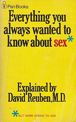 9780330026642: Everything You Always Wanted To Know About Sex