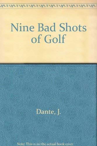 9780330026901: Nine Bad Shots of Golf