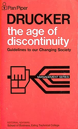 9780330026932: The Age of Discontinuity (Management S.)