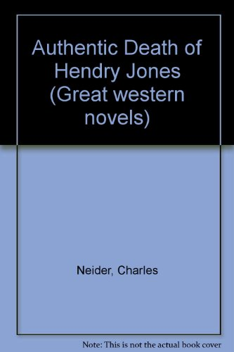 9780330029810: Authentic Death of Hendry Jones (Great western novels)