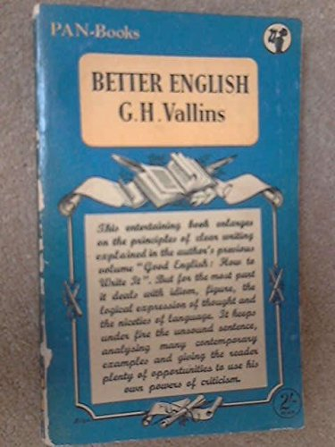 9780330130394: Better English