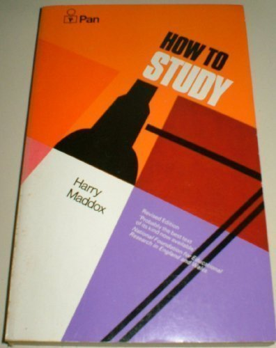 9780330231404: How To Study