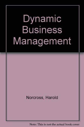 9780330231527: Dynamic Business Management