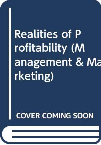 9780330232777: Realities of Profitability (Management & Marketing)