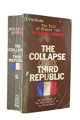 9780330233552: Collapse of the Third Republic