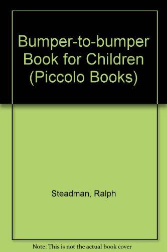 9780330234849: Bumper-to-bumper Book for Children (Piccolo Books)