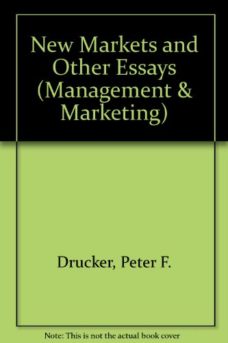 9780330238212: New Markets and Other Essays (Management & Marketing)