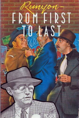 9780330245586: RUNYON FROM FIRST TO LAST (PICADOR BOOKS)