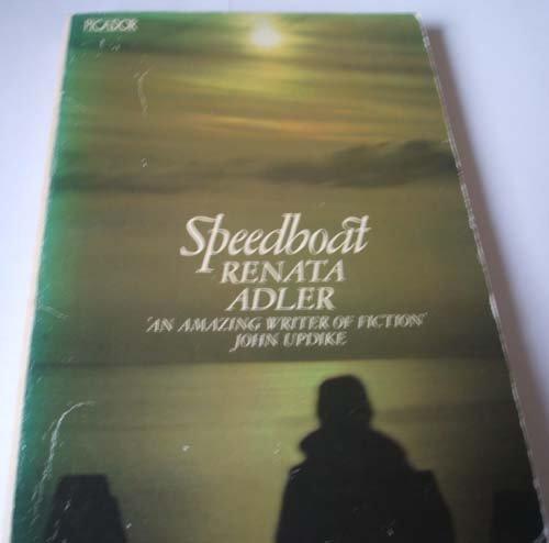 9780330254847: Speedboat (Picador Books)