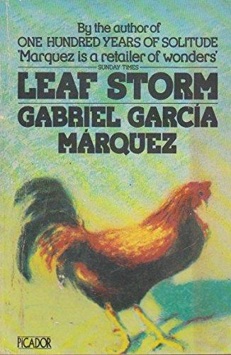 9780330256889: Leaf Storm (Picador Books)