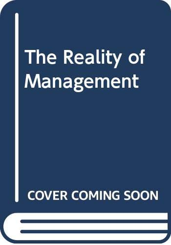 9780330259514: The Reality of Management