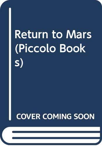 9780330260077: Return to Mars (Piccolo Books)