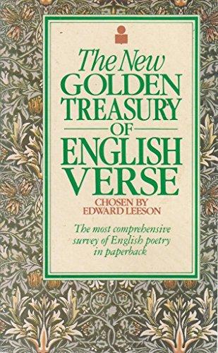 9780330261654: The New Golden Treasury of English Verse