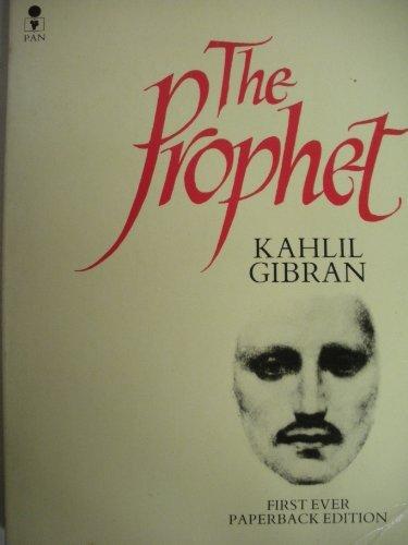 9780330262200 The Prophet Abebooks Kahlil Gibran