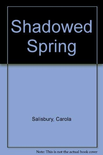 9780330264068: Shadowed Spring, The