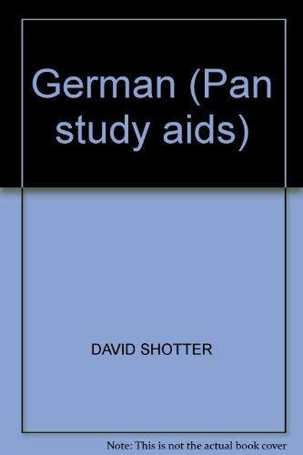 9780330264747: German (Pan study aids)