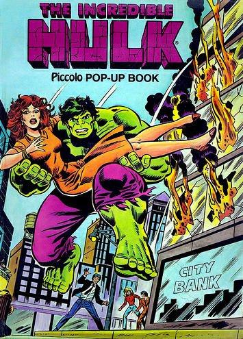 Incredible Hulk Pop-up Book (Piccolo Books): Lee, Stan