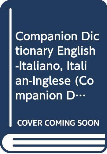 9780330266512: Companion Dictionary English-Italiano, Italian-Inglese (Companion Dictionaries)