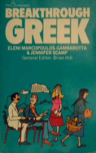 Greek (Breakthrough Books): Eleni Gambarotta, Jennifer Scamp