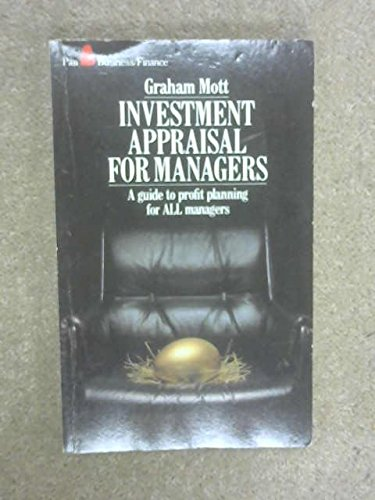 9780330267953: Investment Appraisal for Managers