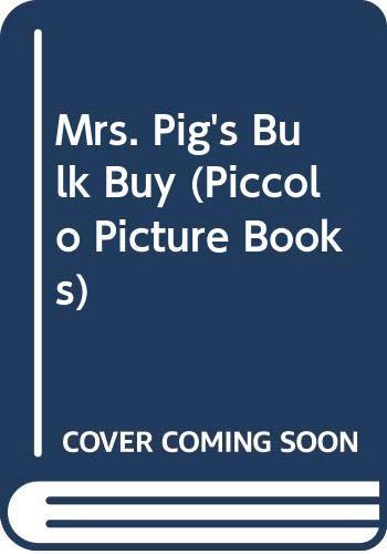 9780330268554: Mr & Mrs Pig's Bulk Buy