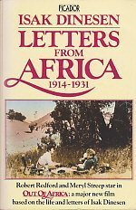9780330268660: 'LETTERS FROM AFRICA, 1914-31 (PICADOR BOOKS)'