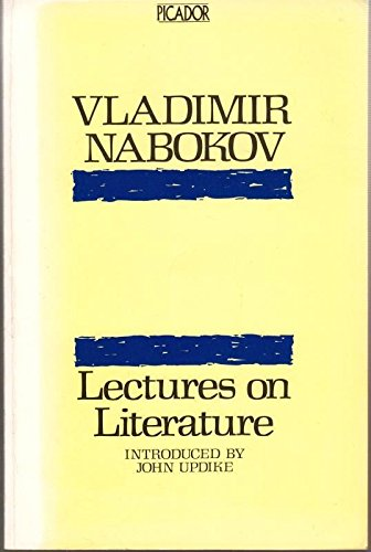 9780330269735: Lectures on Literature: Austen, Dickens, Flaubert, Joyce, Kafka, Proust, Stevenson (Picador Books)