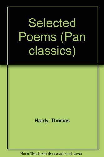 9780330280518: Selected Poems (Pan classics)