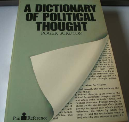 9780330280990: Dictionary of Political Thought