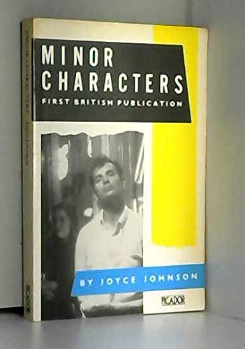 9780330281492: Minor Characters (Picador Books)