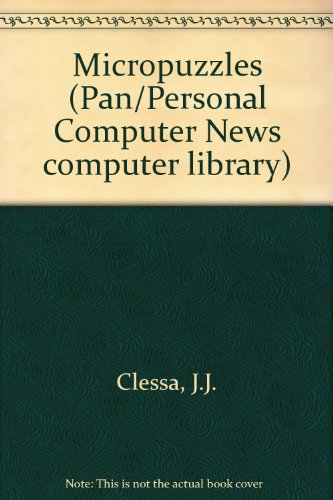 9780330282673: Micropuzzles (Pan/Personal Computer News computer library)