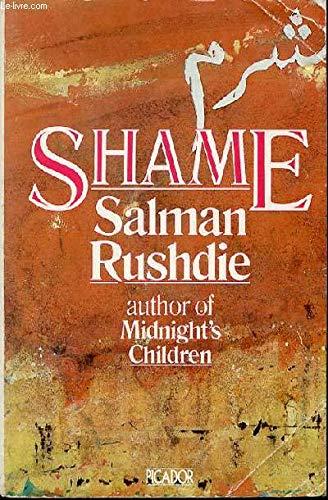 9780330282840: Shame (Picador Books)