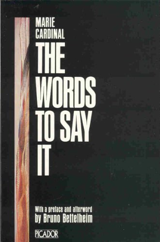 9780330283304: The words to Say it