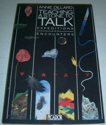 9780330283410: Teaching A Stone To Talk - Expeditions And Encounters