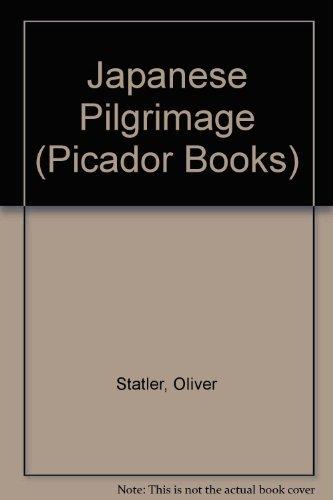 9780330283762: Japanese Pilgrimage (Picador Books)