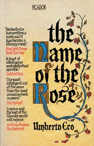 9780330284141: The Name of the Rose (Picador Books)