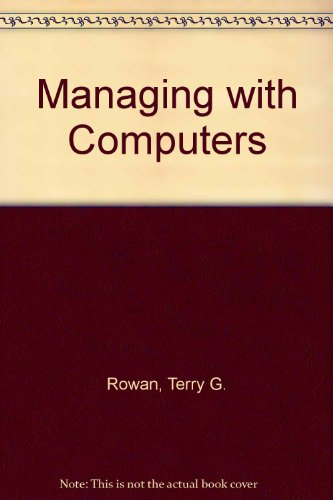 9780330291439: Managing with Computers