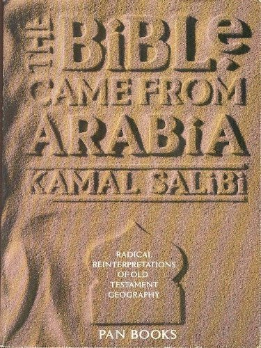 9780330295192: Bible Came from Arabia