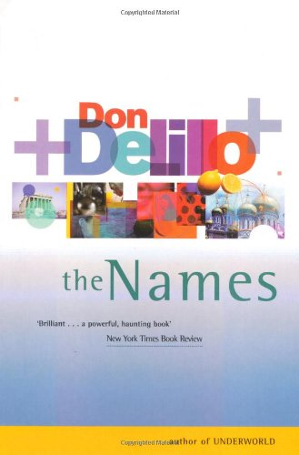 9780330297516: The Names (Picador Books)