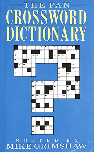 9780330303101: The Pan Crossword Dictionary