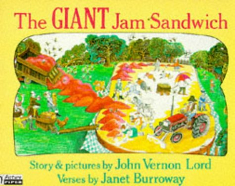 9780330303545: The Giant Jam Sandwich (Piper Picture Books)