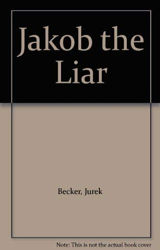 9780330304474: Jakob the Liar (Picador Books)