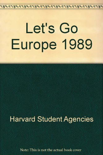 9780330305464: Let's Go Europe 1989