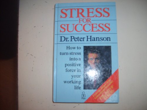 9780330306874: Stress for Success